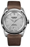 Formex Essence Chronometer Silver Leather
