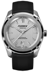 Formex Essence Chronometer Silver Rubber