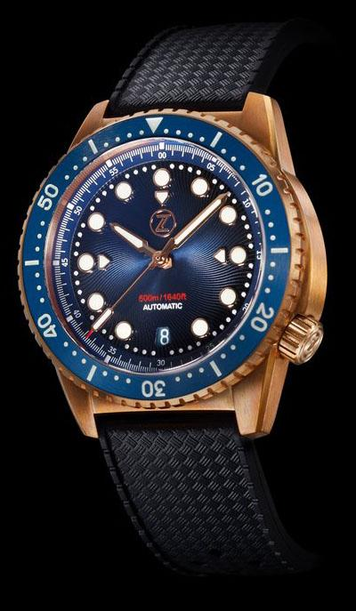Zelos V2 Mako 500 Bronze Midnight Blue