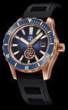 Zelos Abyss 3 Bronze Turbine Midnight Blue