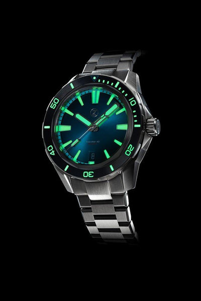 Zelos Swordfish 40mm Teal