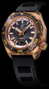 Zelos Hammerhead 2 Bronze Forged Carbon NH35