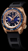 Zelos Hammerhead 2 Bronze Midnight Blue NH35