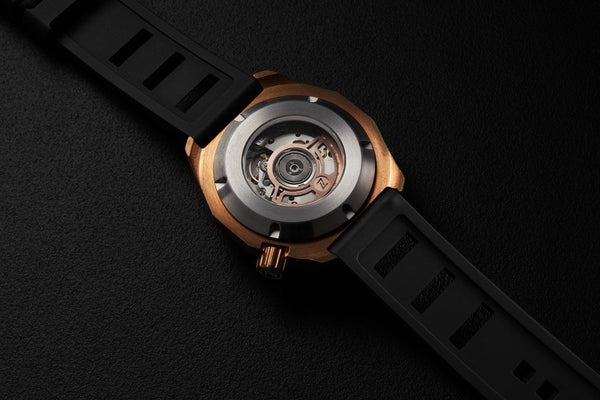 Zelos Hammerhead 2 Bronze Midnight Blue ETA 2892