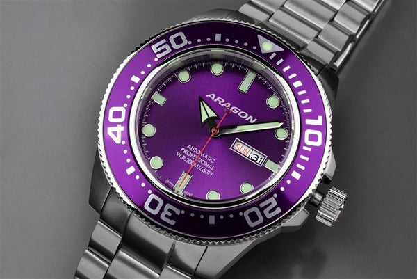 ARAGON Divemaster Automatic 45mm A064PUR