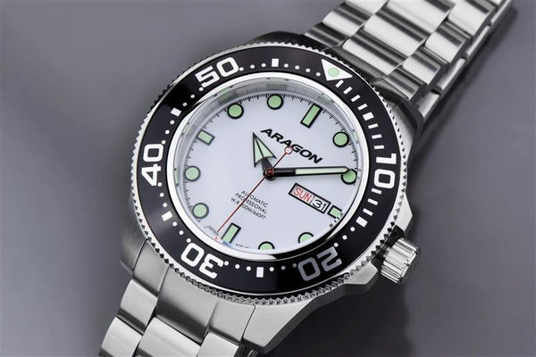 ARAGON Divemaster Automatic 50mm A054WHT