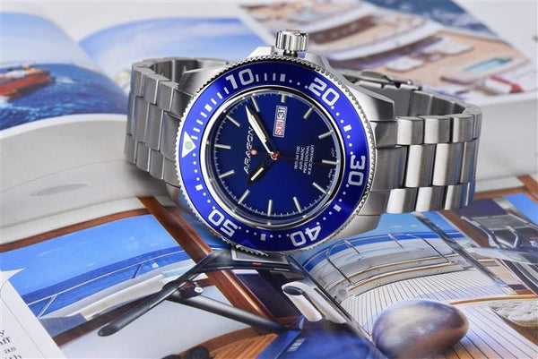 ARAGON Divemaster T100 Automatic 50mm A056BLU