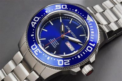 ARAGON Divemaster T100 Automatic 45mm A066BLU