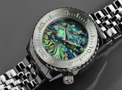ARAGON Divemaster EVO 50mm Abalone Dial A254ABA