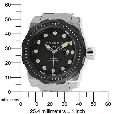 ANDROID Stance Automatic 45mm AD646BKK