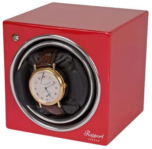 Rapport London Watchwinder EVO CUBE Red #6 EVO06