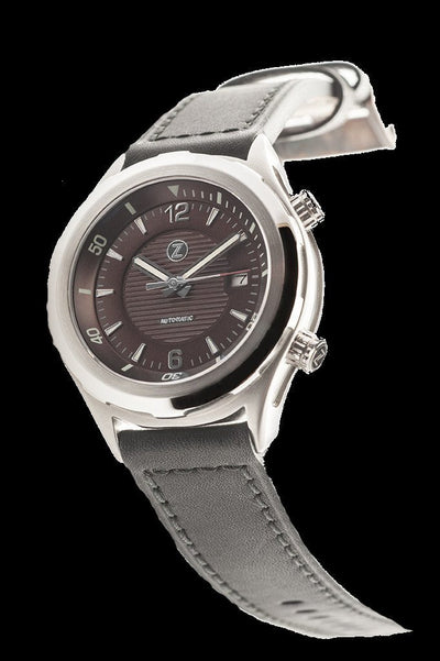 Zelos Helmsman Brown Dial