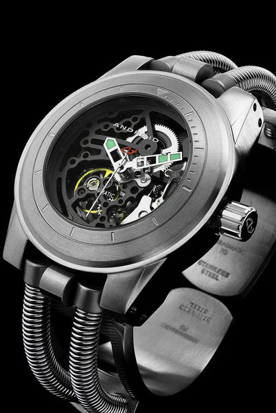 ANDROID Hydraumatic G7 Skeleton Automatic AD520BK