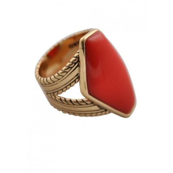 Barse Coral Brights Ring