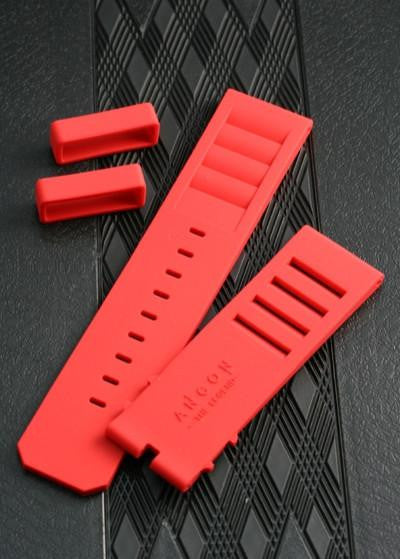 ANCON Silicon Strap Regular Size 24mm Red