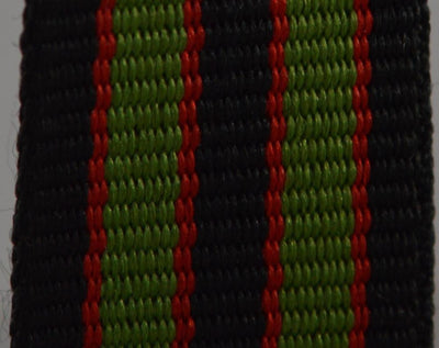 NATO Strap Black, Red and Green