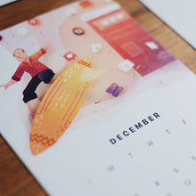 2018 Desk Calendar Inventor Edition