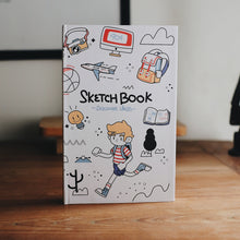 Hard Cover Sketch Book