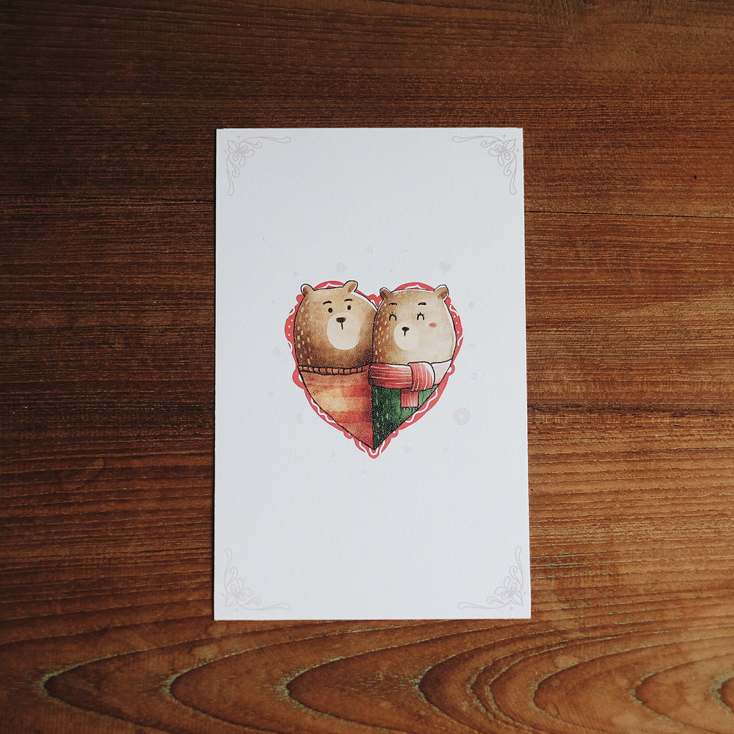Bear Love Greeting Card