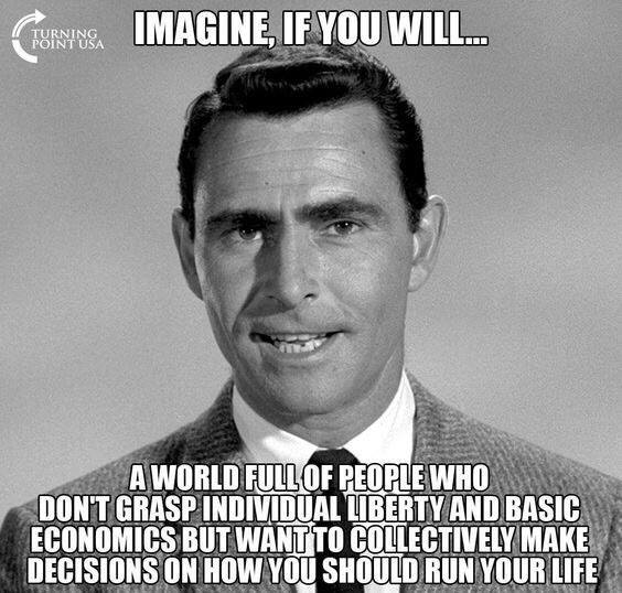 Imagine if you will...