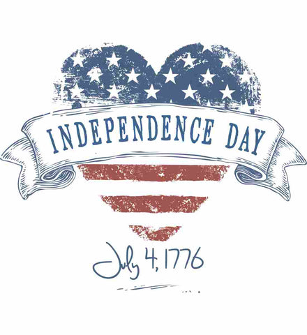Independence Day. July, 4 1776.