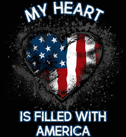 My Heart Is Filled With America.