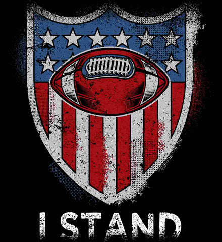 Football National Anthem. I Stand.