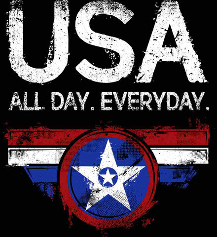 USA All Day Everyday.