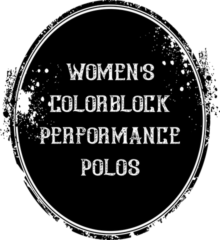 Women's Colorblock Performance Polos