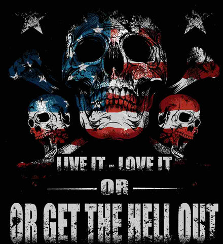 American Skull. Live it. Love it. Or Get The Hell Out.