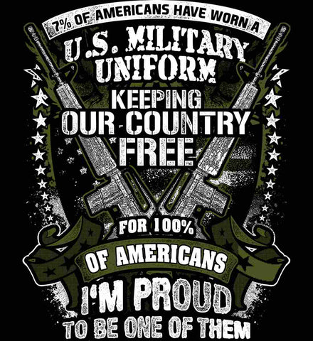 7% of Americans Have Worn a Military Uniform. I am proud to be one of them.