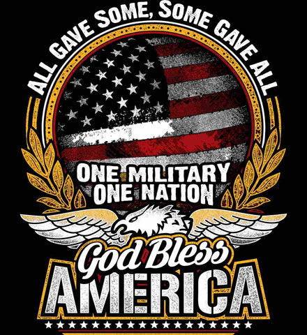 All Gave Some, Some Gave All. God Bless America.