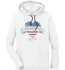 Independence Day. July, 4 1776. Anvil Long Sleeve T-Shirt Hoodie.