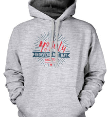 4th of July. Independence Day Since 1776. Gildan Heavyweight Pullover Fleece Sweatshirt.