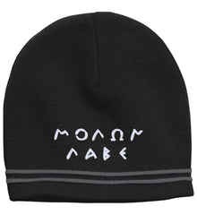 Molon Labe. Original Script. Hat. Molon Labe - Come and Take. Sport-Tek Colorblock Beanie. (Embroidered)