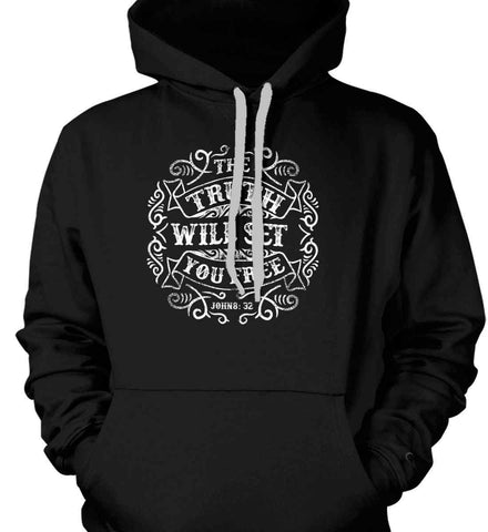 The Truth Shall Set You Free. Gildan Heavyweight Pullover Fleece Sweatshirt.