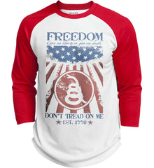 Freedom. Give me liberty or give me death. Sport-Tek Polyester Game Baseball Jersey.