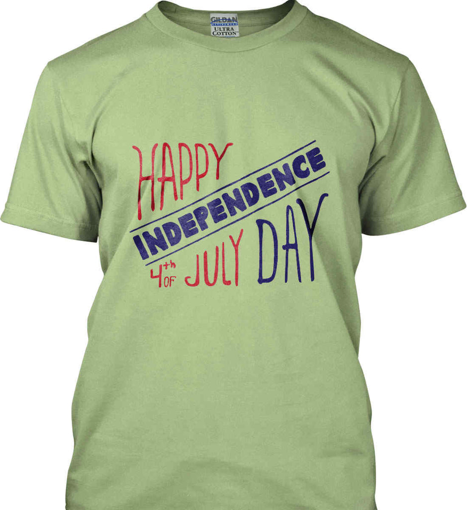 Happy Independence Day. 4th of July. Gildan Ultra Cotton T-Shirt.-8