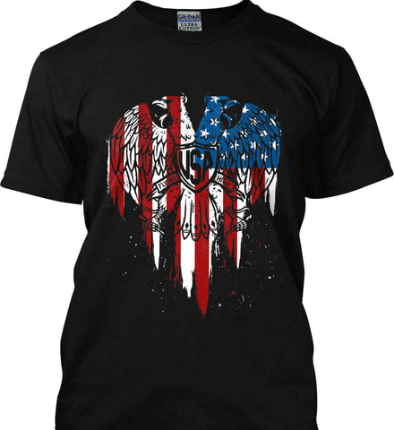 USA Eagle Flying High. Gildan Tall Ultra Cotton T-Shirt.