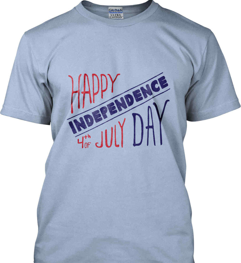 Happy Independence Day. 4th of July. Gildan Ultra Cotton T-Shirt.-9
