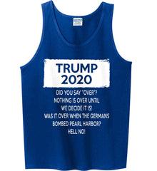 TRUMP 2020. Gildan 100% Cotton Tank Top.
