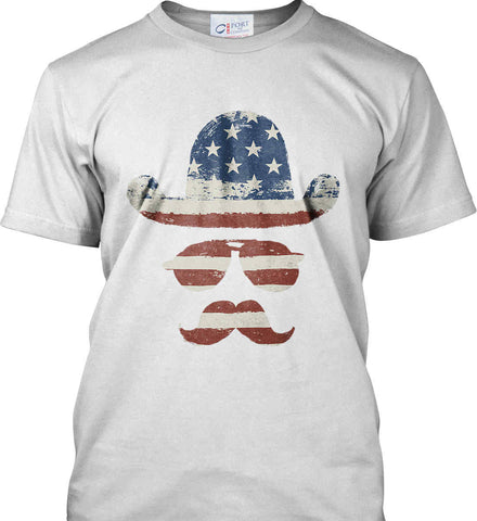 Do you even know how to Patriot Bro? Port & Co. Made in the USA T-Shirt.
