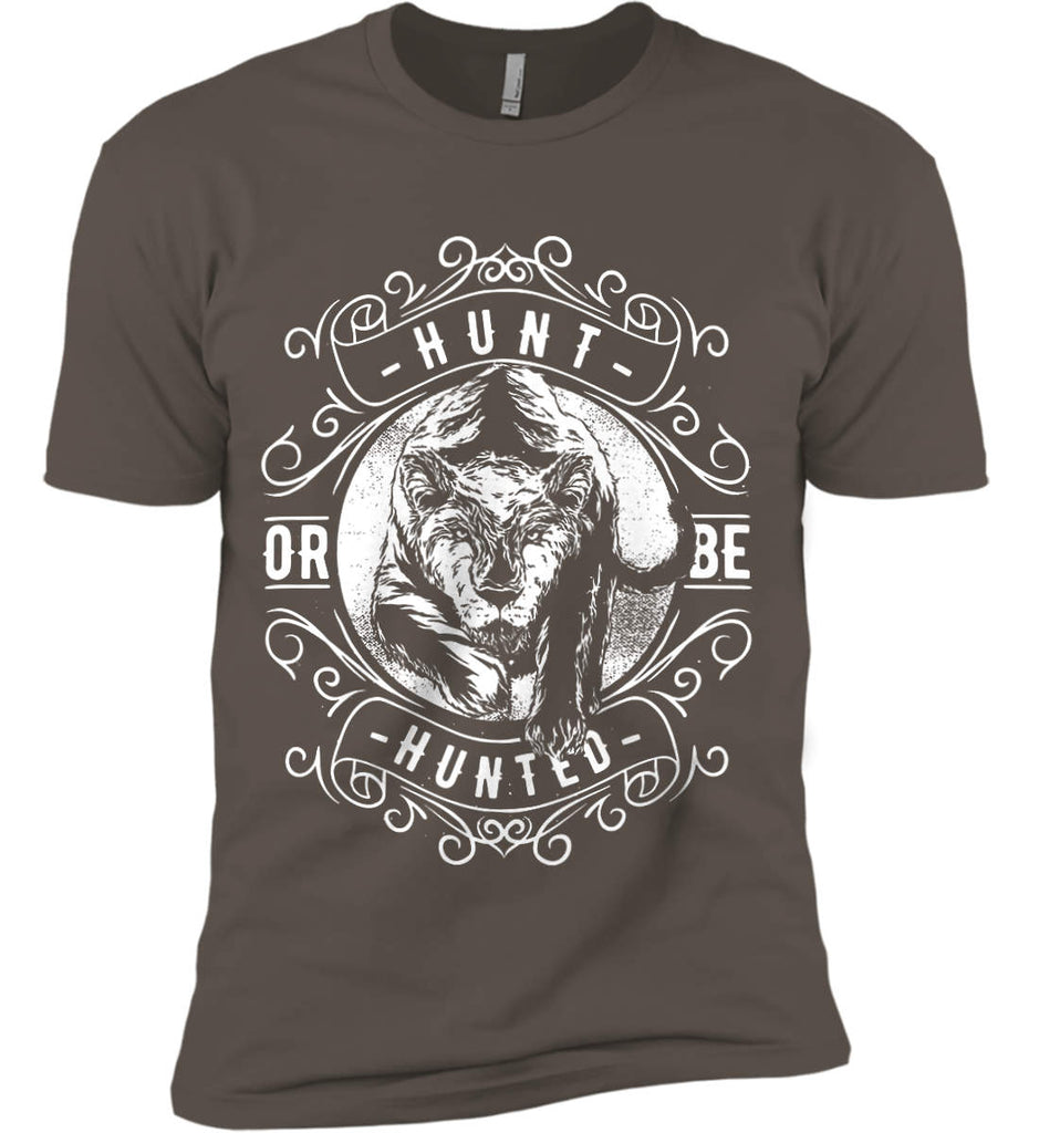 Hunt or be Hunted. Next Level Premium Short Sleeve T-Shirt.-2