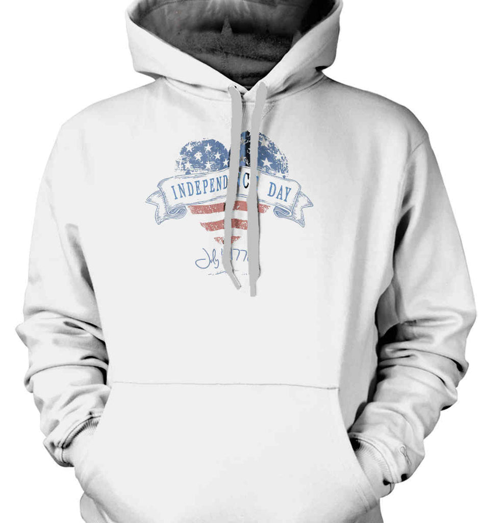 Independence Day. July, 4 1776. Gildan Heavyweight Pullover Fleece Sweatshirt.-1
