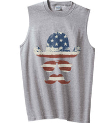 Do you even know how to Patriot Bro? Gildan Men's Ultra Cotton Sleeveless T-Shirt.