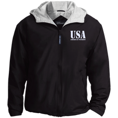 USA. American Patriot. Port Authority Team Jacket. (Embroidered)