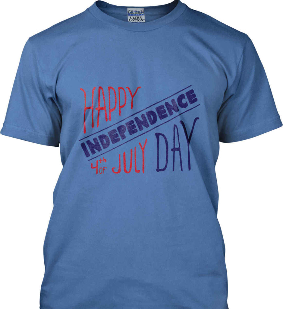 Happy Independence Day. 4th of July. Gildan Ultra Cotton T-Shirt.-6