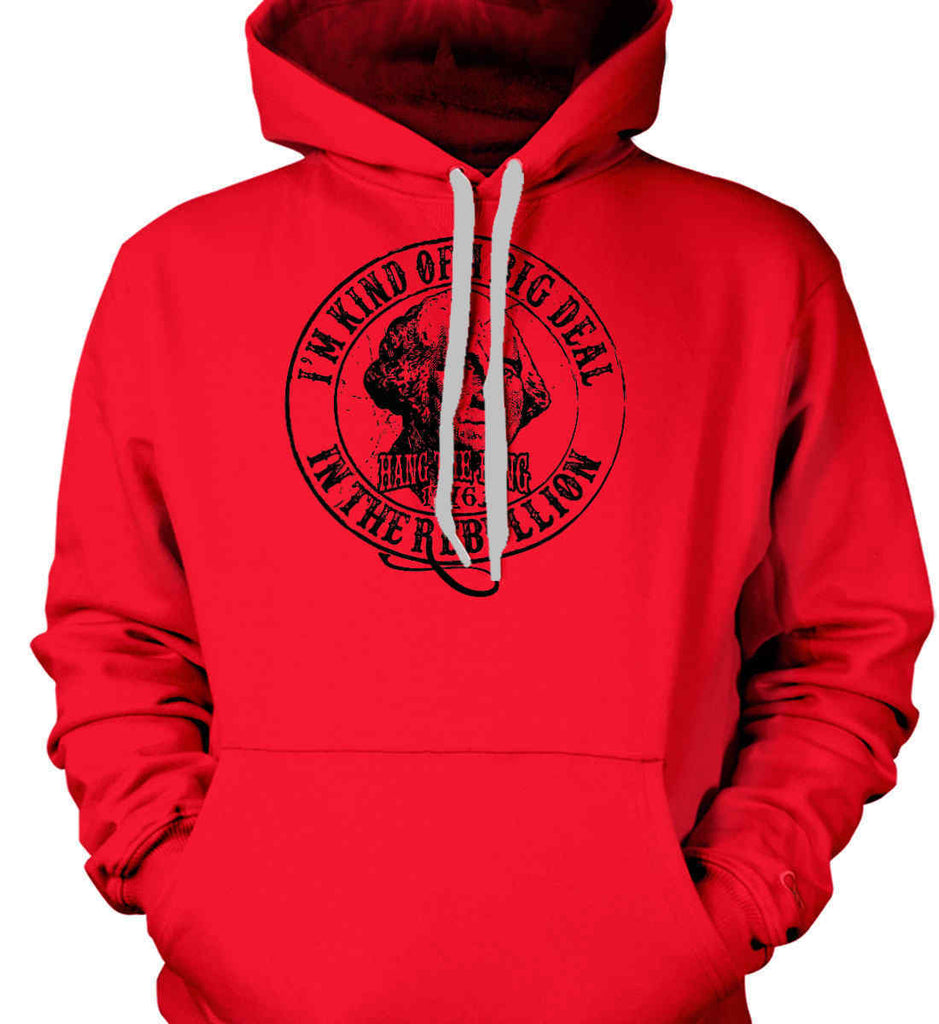 I'm Kind of Big Deal in the Rebellion. Gildan Heavyweight Pullover Fleece Sweatshirt.-3