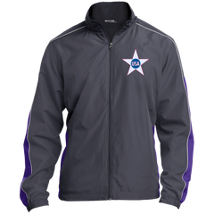 USA. Inside Star. Red, White and Blue. Sport-Tek Colorblock Windbreaker. (Embroidered)