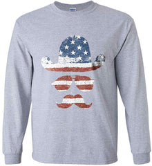 Do you even know how to Patriot Bro? Gildan Ultra Cotton Long Sleeve Shirt.
